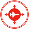 aerospace shipping icon